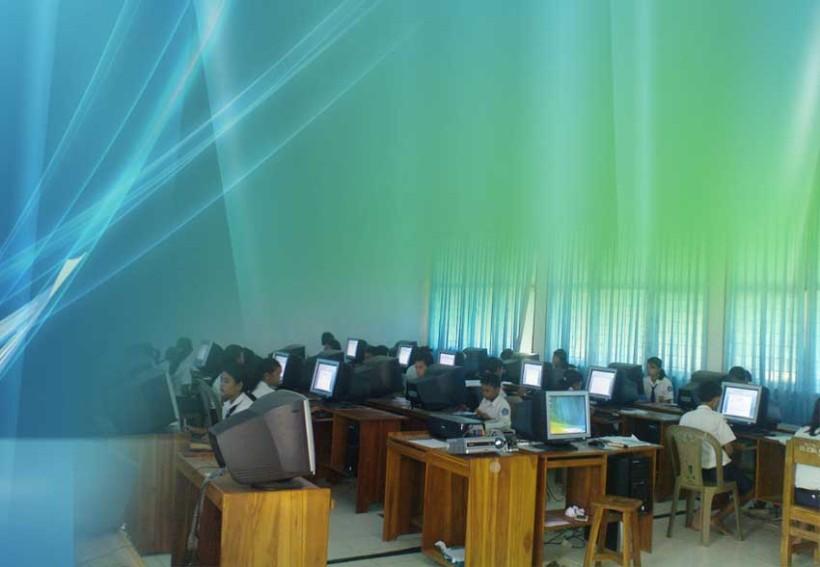 Lab Komputer SMPN 1 Tinanggea